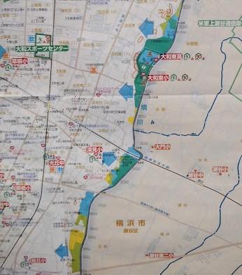 大和駅近辺のハザードマップ